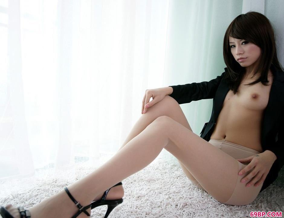 国模小艺150P_小艾薄丝美体高跟鞋3